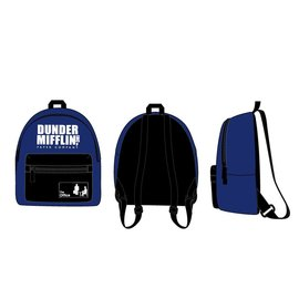 Bioworld Mini Backpack - The Office - Dunder Mifflin Blue and Black