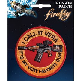 Ata-Boy Patch - Firefly - I Call It Vera It Is My Very Favorite Gun