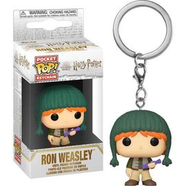 Funko Funko Pocket Pop! Keychain - Harry Potter - Ron Weasley (Holiday)