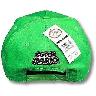 Bioworld Casquette - Nintendo Super Mario - L de Luigi Verte Snapback