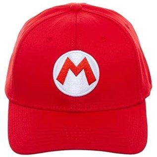 Bioworld Casquette - Nintendo Super Mario Bros. - M de Mario Rouge Flexy