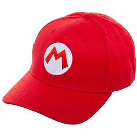 Bioworld Casquette - Nintendo - Super Mario: M de Mario Rouge Snapback