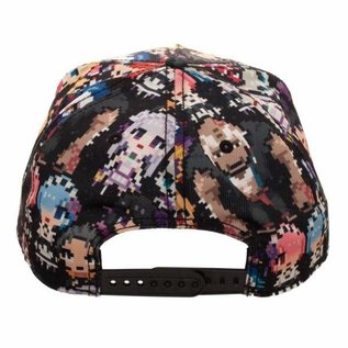 Bioworld Casquette - Re:Zero Starting Life in Another World - Personnage Chibi 8-bit Snapback