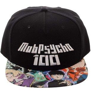 Bioworld Casquette - Mob Psycho 100 - Logo Sur Fond Noir