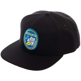 Bioworld Casquette - Bananya - The Kitty Who Lives In A Banana Noir