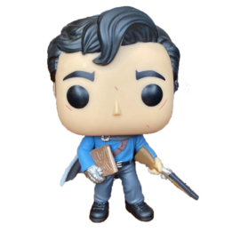 Funko Funko Pop! Movies- Army of Darkness - Ash with Shotgun and Necronomicon 1024 *Hot Topic Exclusive*
