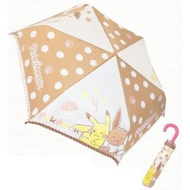 "ShoPro Umbrella - Pokémon - Pikachu and Eevee with Stars ""Pocket Monster"""