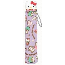 ShoPro Parapluie - Sanrio - Hello Kitty et ses Amis Mauve avec Poignée 3D