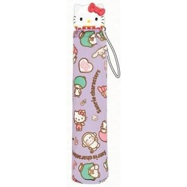 ShoPro Umbrella - Sanrio - Hello Kitty and Friends Purple with 3D Handle