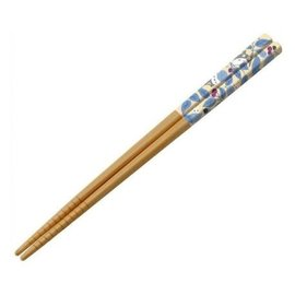 Warner Bros. Chopsticks - Studio Ghibli - My Neighbor Totoro: Totoro Silver with Leaves 1 Pair 21cm