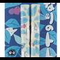 Nibariki Baguettes - Studio Ghibli Mon Voisin Totoro - Totoro Argenté avec Feuilles 1 Paire 21cm