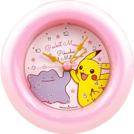 "ShoPro Horloge - Pokémon - Pikachu et Dito/Metamon ""Pocket Monsters"""