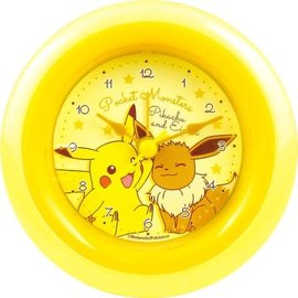 "ShoPro Horloge - Pokémon - Pikachu et Eevee/Eievui ""Pocket Monsters"""