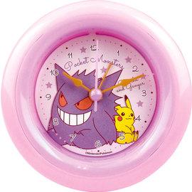 "ShoPro Clock - Pokémon - Pikachu and Gengar/Gangar ""Pocket Monsters"""