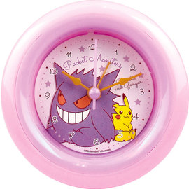 "ShoPro Horloge - Pokémon - Pikachu et Gengar/Gangar ""Pocket Monsters"""