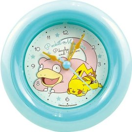 "ShoPro Horloge - Pokémon - Pikachu et Slowpoke/Yadon ""Pocket Monsters"""
