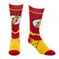 Bioworld Chaussettes - DC Comics - The Flash: Logo et Uniforme Jaunes et Rouges 1 Paire Crew