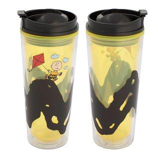 Vandor Bouteille de voyage - Peanuts - Charlie Brown avec Cerf-Volant 16oz