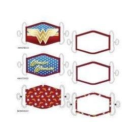 Bioworld Masque - DC Comics - Wonder Woman Couvre-Visage Paquet de 3 pour Enfants *Liquidation*