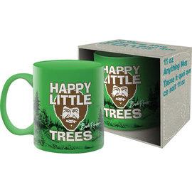 NMR Tasse - Bob Ross - Happy Little Trees Verte 11 oz
