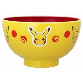 """ShoPro Bowl - Pokémon - Pikachu's Face and Poké Balls """"Pocket Monsters"""" for Rice"""