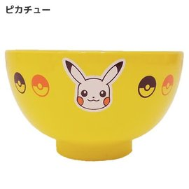 "ShoPro Bowl - Pokémon - Pikachu's Face Sun and Moon ""Pocket Monsters"" for Rice"