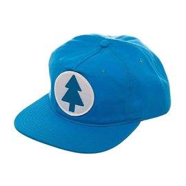 Bioworld Casquette - Disney Gravity Falls - Dipper Pine Bleu Avec Logo Blanc Snapback