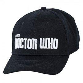 Bioworld Baseball Cap - Doctor Who - Noir Avec Logo Blanc