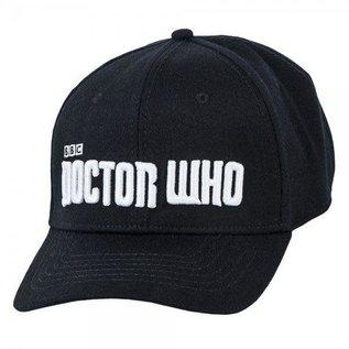 Bioworld Casquette - Doctor Who - Logo Blanc Noire