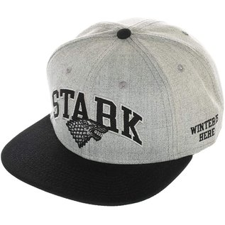 Bioworld Casquette - Game of Thrones - Stark Grise avec Blason