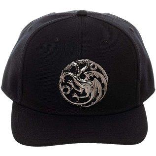 Bioworld Casquette - Game of Thrones - Targaryen Avec Emblème en Métal