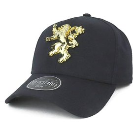 Bioworld Baseball Cap - Game of Thrones - Lannister with Metal Emblem
