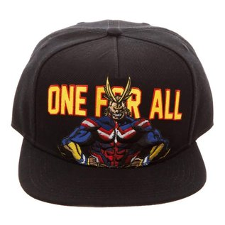 Bioworld Casquette - My Hero Academia - All Might One For All
