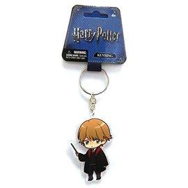 Monogram Keychain - Harry Potter - Ron Weasley Chibi Acrylic