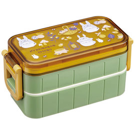 Skater Bento Box - Studio Ghibli My Neighbour Totoro - Autumn Scene 650ml