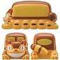 Skater Boîte Bento - Studio Ghibli Mon Voisin Totoro - Chat-Bus 3D de 2 Compartiments 460ml
