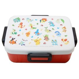 Skater Bento Box - Pokémon - Multiple Generation Starters 650ml