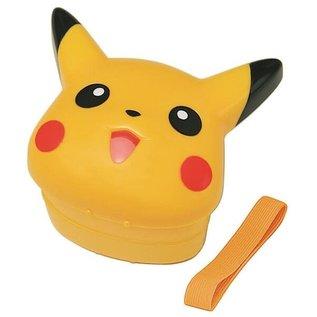Skater Boîte Bento - Pokémon - Visage de Pikachu 3D de 2 Compartiments 270ml