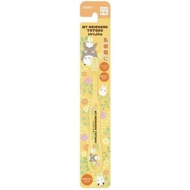 ShoPro Toothbrush - Studio Ghibli My Neighbour Totoro - Totoro and Chibi Totoro Yellow
