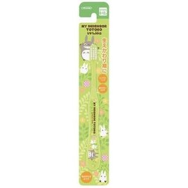ShoPro Toothbrush - Studio Ghibli My Neighbour Totoro - Totoro and Chibi Totoro Green
