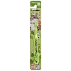 ShoPro Toothbrush - Studio Ghibli My Neighbour Totoro - Totoro, Chu and Chibi Totoro Green