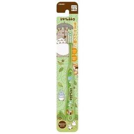 ShoPro Toothbrush - Studio Ghibli My Neighbour Totoro - Mei, Chu and Chibi Totoro Green