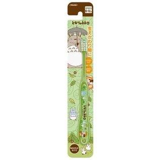 ShoPro Brosse à dents - Studio Ghibli - Mon Voisin Totoro: Mei, Chu et Chibi Totoro Verte