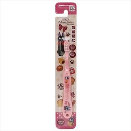 ShoPro Toothbrush - Studio Ghibli Kiki's Delivery Service - Jiji with Pastries Pink