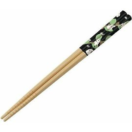 Skater Chopsticks - Studio Ghibli - My Neighbor Totoro: Chibi Totoro White with Leaves 1 Pair 21cm