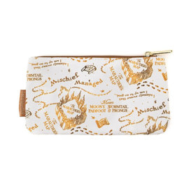 Loungefly Pouch - Harry Potter - Marauders Map Sepia
