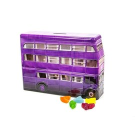 Jelly Belly Candy - Harry Potter - Knight Bus Tin Bank with Gummi Jelly