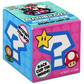 Boston America Corp Bonbons - Nintendo Mario Kart - Boîte Mystère de la Coupe de Course avec Boîte en métal