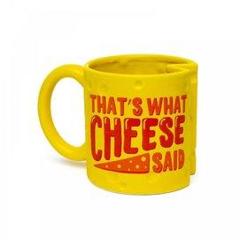 Bigmouth Inc Tasse - Humour - That's What Cheese Said en Forme de Fromage 20oz