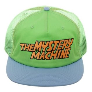 Bioworld Casquette - Scooby-Doo - The Mystery Machine Verte et Bleu en Mesh